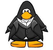 Tuxedo from a Player Card