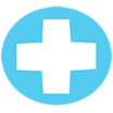 Decal Lifeguard Cross icon