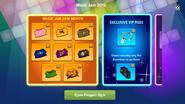 Music Jam 2016 app interface page 1