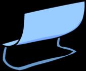 Blue Bench sprite 003