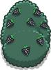Large Multi-berry Bush sprite 037