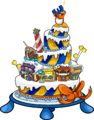 3rd Anniversary Party Cake