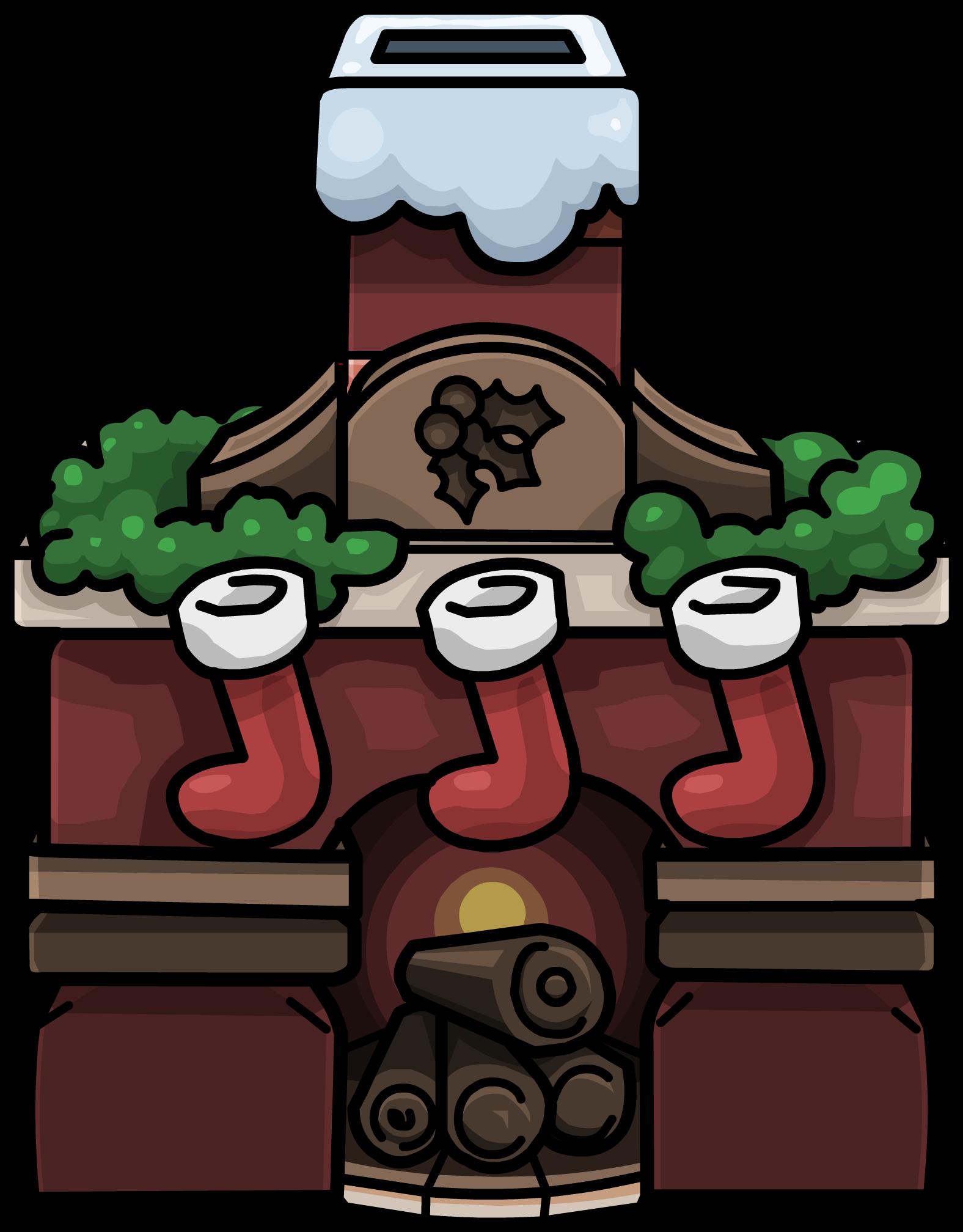 holiday fireplace club penguin wiki fandom powered by wikia