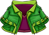 Green Peacoat icon