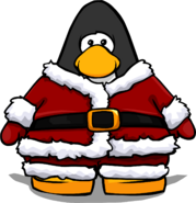 Santa Suit from a Player Card