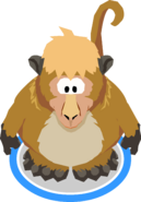 Monkey Costume in-game