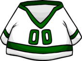 Green Away Hockey Jersey clothing icon ID 4478