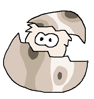 File:White Puffle Egg.png