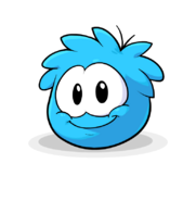 Puffle Transformation 2012 Blue