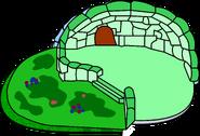 Green Clover Igloo icon glitch