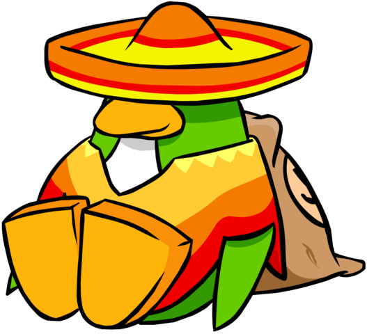 File:Sombrero and Poncho June 2006 Penguin Style.PNG