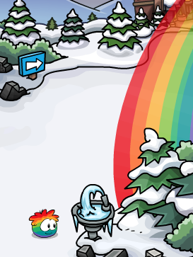 File:Rainbow Puffle at Dock 2013 2.png