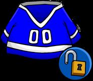 Blue Hockey Jersey clothing icon ID 10278
