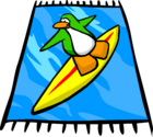 Surf Beach Towel sprite 006