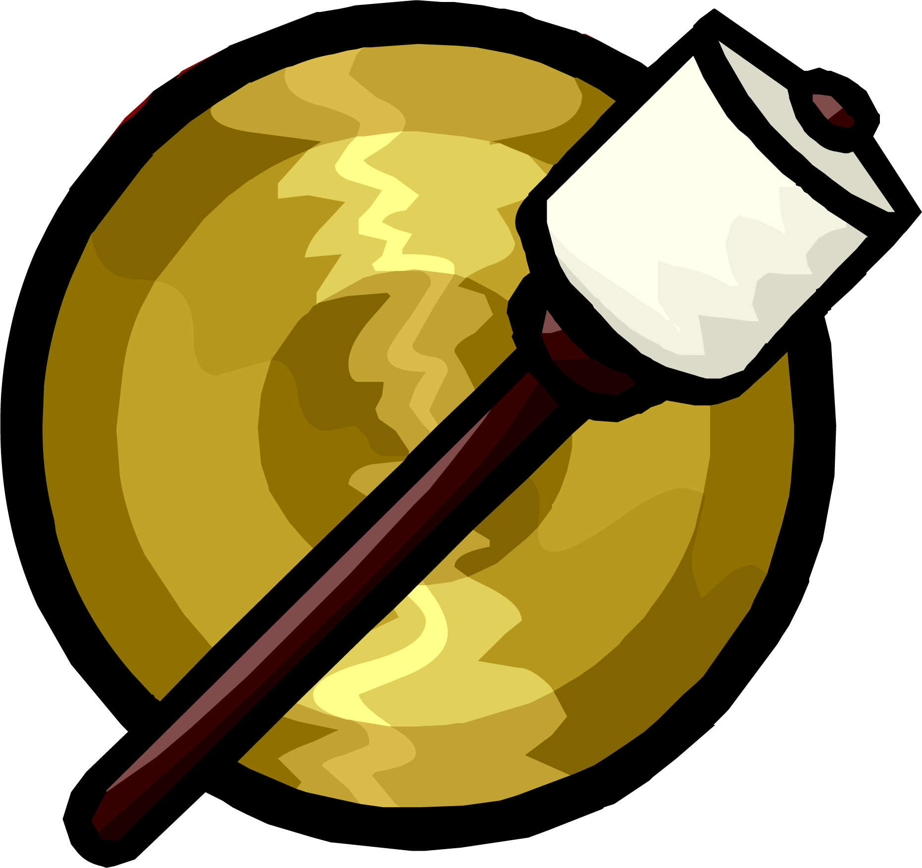 Hand Gong Club Penguin Wiki Fandom Powered By Wikia