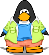 Color Me Cool Outfit on a Player Card