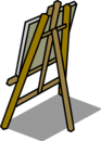 Easel sprite 006