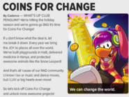 Coins For Change - Issue 477