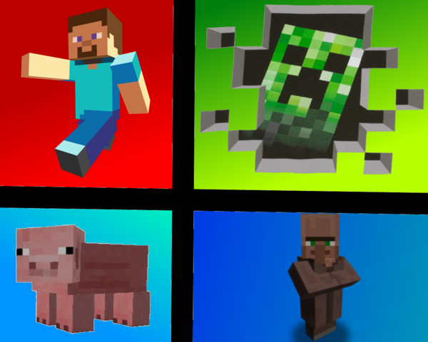 File:Minecraft Collage.png