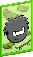 Black Puffle Poster sprite 001