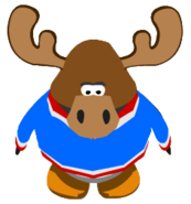 Zeus the Moose ingame