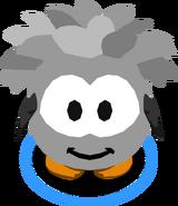 Grey Puffle Costume in-game
