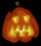 Spooky Jack-O-Lantern sprite 004