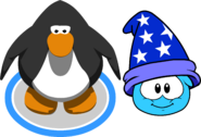 Puffle Hat Wizard Hat ID 83 in game