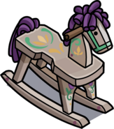 Painted Rocking Horse in-game