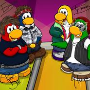 Penguin Band Background photo ru