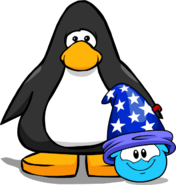 Puffle Hat Wizard Hat ID 83 player card