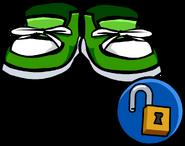 Green Sneakers unlockable icon