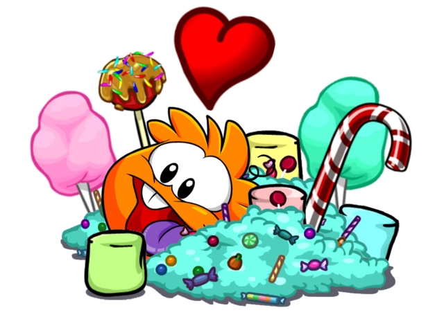 File:Sweet Party Orange Puffle.png