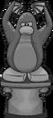 Spooky Penguin Statue sprite 001