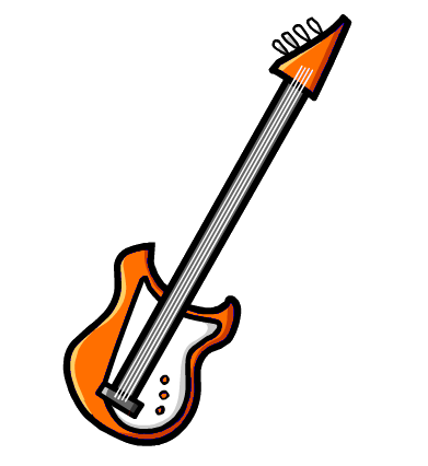 File:Orange bass guitar.png