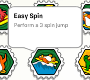 Easy spin stamp book
