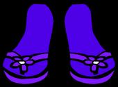 Purple Sandals icon