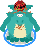 Loch Ness Costume ingame