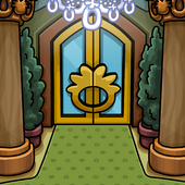 Puffle Hotel Background photo
