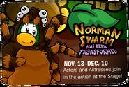 Norman Swarm advertisement
