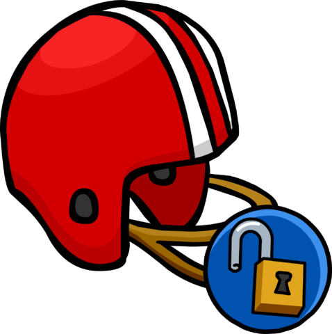 File:Red Football Helmet unlockable icon.png