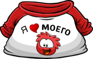 I Heart My Red Puffle T-Shirt icon ru
