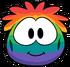 Rainbow Puffle Costume clothing icon ID 4810
