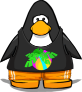 Surf 'n Style Outfit from a Player Card