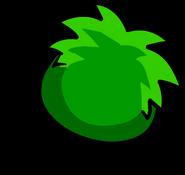Green PuffleBack