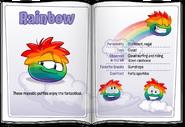 Puffle Handbook Rainbow