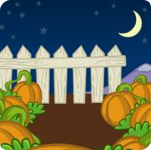 Pumpkin Patch Background