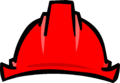 Red Construction Hat icon