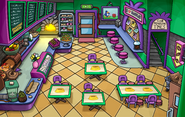 Puffle Party 2014 Coffee Shop