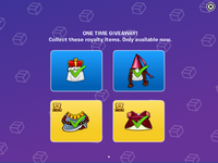 Royalty Week items